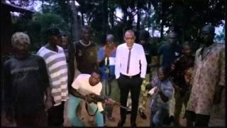 Emmanuel is not impressed as Nnamdi Kanu tries to pose like Dokubo Asari - Biafra IPOB