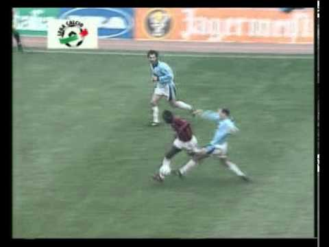 """EuroGoal"" George Weah - Lazio 0-1 Milan (Serie A 95'96')"