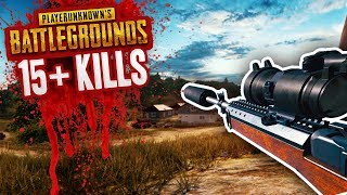 15+ KILLS - MY BEST GAME EVER! - BATTLEGROUNDS NEW UPDATE (PUBG)