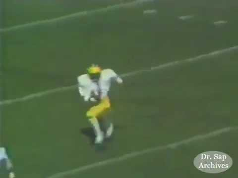 1980 Notre Dame Michigan Anthony Carter Kickoff Return