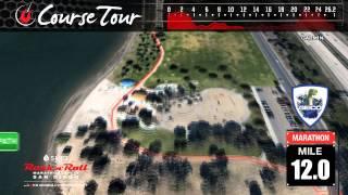 Course Map: Rock 'n' Roll Las Vegas Half Marathon