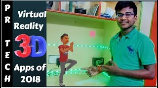 Top 3 Augmented Reality Apps OF 2018|Must TRY!!|In Hindi |PR Tech's | AR Part #1