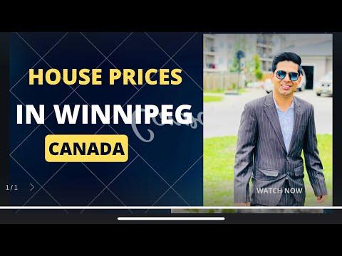 House prices in Winnipeg Manitoba Canada