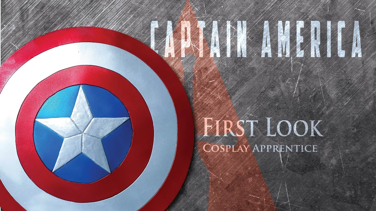 comment faire bouclier de captain america first look
