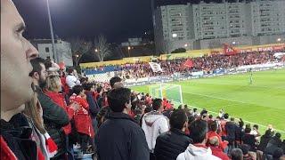 O minutos final, reações, quase confusão e comentários! Estoril x Benfica