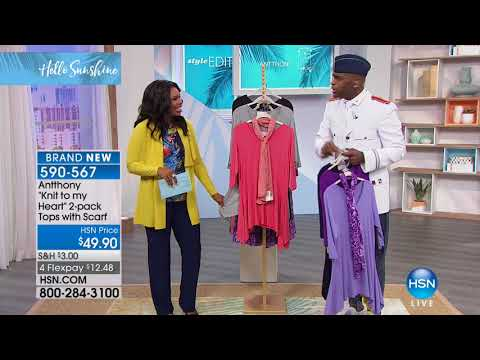 HSN | Antthony Design Original Fashions 02.10.2018 - 10 AM