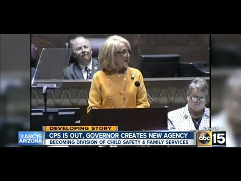Arizona Governor Abolishes The CPS Agency