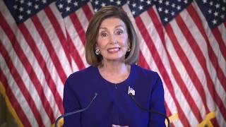 Nancy Pelosi Makes Statement On Impeachment