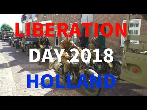 WWII Convoy - Liberation day in the Netherlands