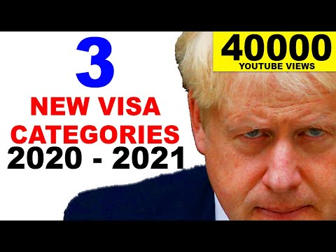 UK POINTS-BASED IMMIGRATION SYSTEM :EXPLAINED |3 NEW CATEGORIES|POST BREXIT|BORIS JOHNSON |2019 HD