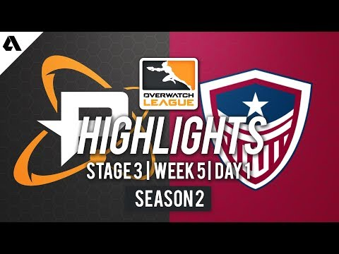 Philadelphia Fusion vs. Washington Justice   Overwatch League S2 Highlights – Stage 3 Week 5 Day 1