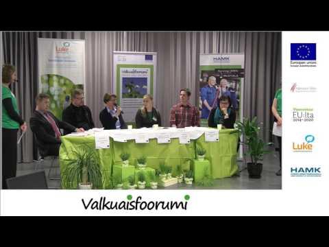 Paneelikeskustelu - Valkuaisfoorumin Innovaatiomessut 14.3.2017