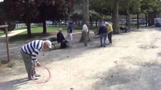 Paris, Eiffel Tower Garden, Playing