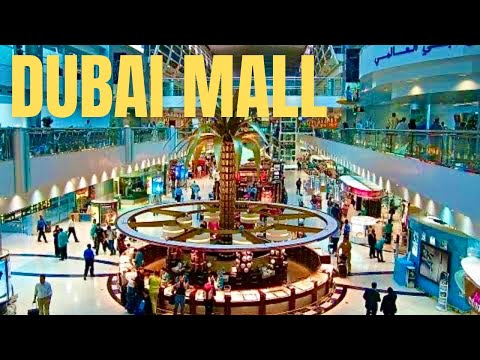 The Dubai Mall Worlds Largest Shopping Mall Hd Youtube