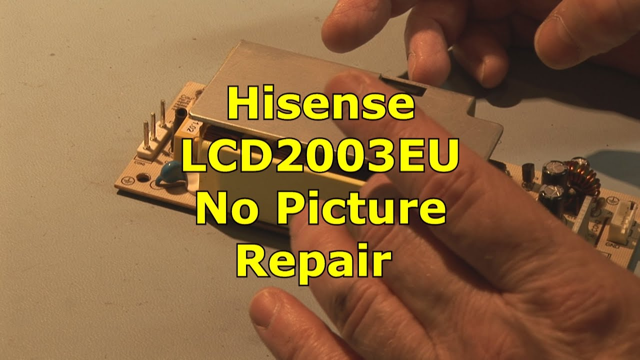 Hisense LCD2003EU Stuck in Stand By | FIXED | - clipzui com