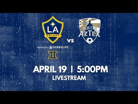 LA Galaxy II v. Austin Aztex | April 19th, 2015