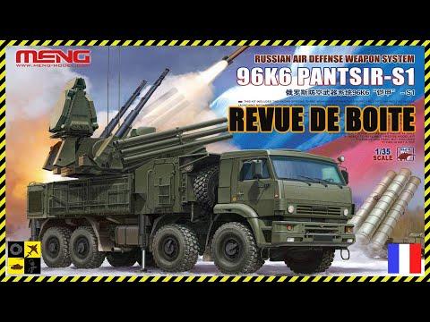 Download ⭐️ Revue de boite: 96K6 Pantsir S1 Meng au 1/35