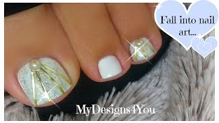 DIY Wedding Toenail Art Design | Bridal Nails ♥ Diseño de Uñas de Pies para Boda(DIY Wedding Toenail Art Design | Bridal Nails ♥ Свадебный Педикюр. Diseño de Uñas de Pies para Boda https://youtu.be/1XnlTyJRjCM Easy and Quick DIY ..., 2015-11-22T07:30:00.000Z)