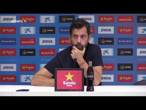 """Quique Sánchez Flores: """"Veo al equipo preparado y con muchas ganas"""""""