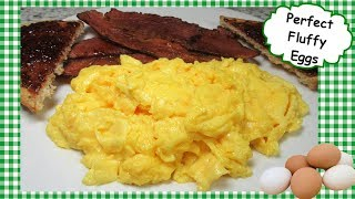 How To Cook Perfect Fluffy Scrambled Eggs Recipe ~ And Beef Bacon!