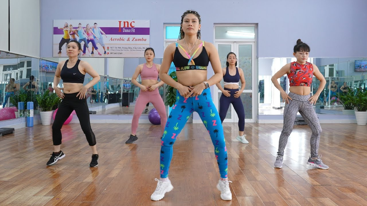 NEW Full Body Aerobic Workout to lose Weight - 2021 Successful Home Slimming Challenge | Zumba Class