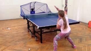 Тренировка с роботом для настольного тенниса в Новороссийске