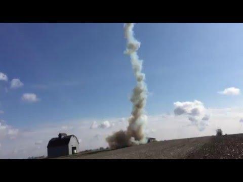 UWO High Powered Rocketry Project Titan II Launch