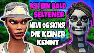 new OG SKINS the NO KNOW😱 rare skins you can have in Fortnite German