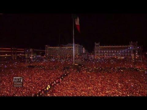 Toque de Silencio - Himno Nacional Mexicano | Concierto Estamos Unidos Mexicanos 2017