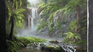 Pinte com Kevin Hill – Paraíso Escondido – Pintura em Tela