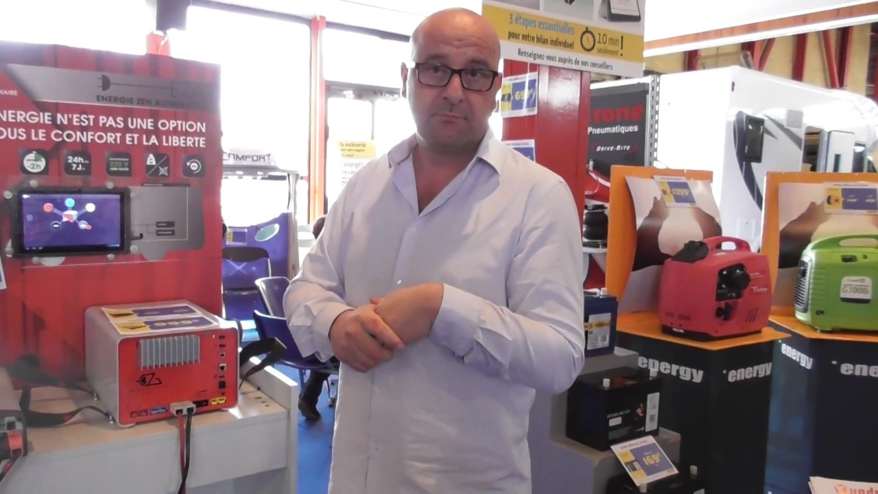 La Pile Eza Sur Le Salon Du Camping Car De Narbonne Youtube