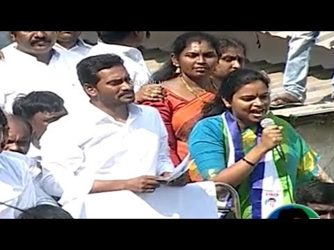 Rajini Vidadala Speech | YSRCP Election Meeting at Chilakaluripet, Guntur District