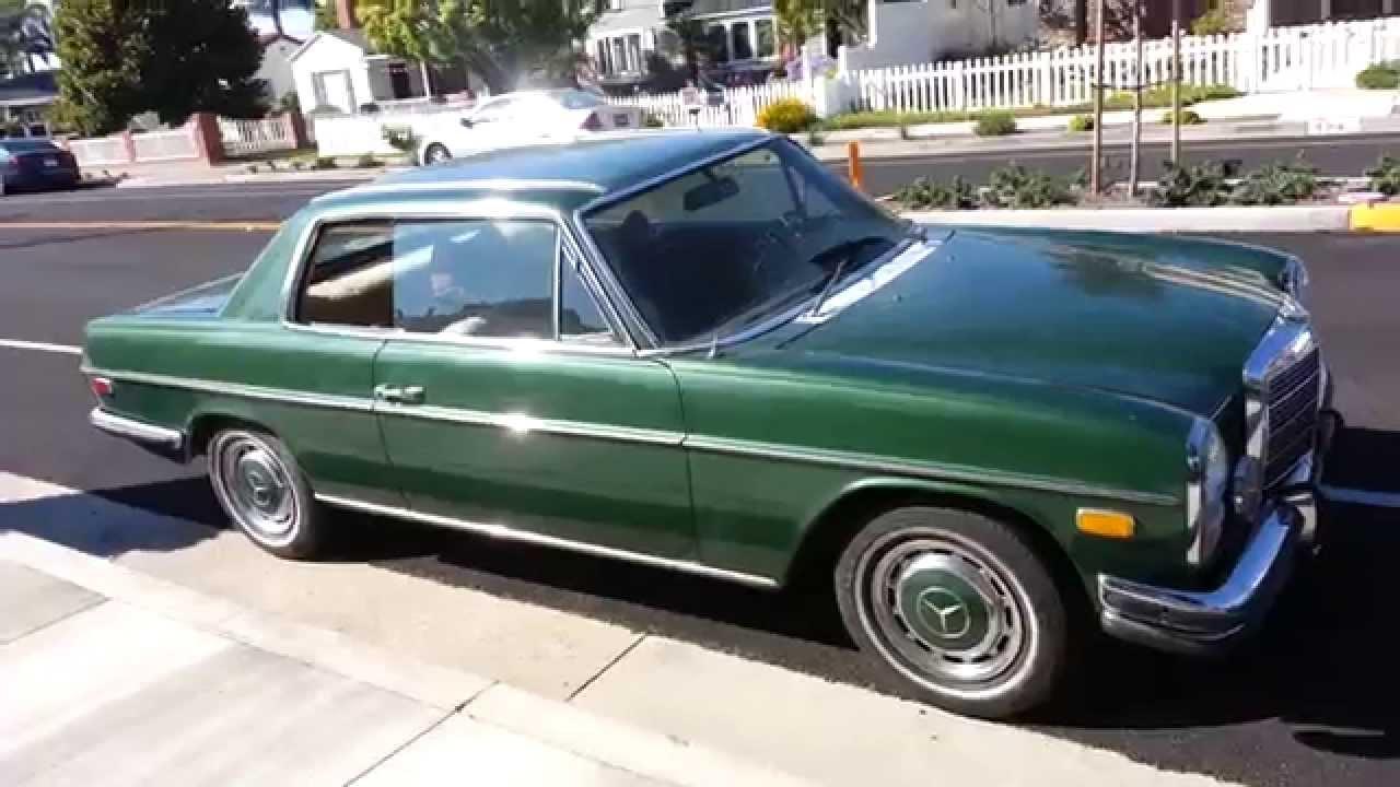 1972 mercedes benz 250c youtube for Mercedes benz 250c