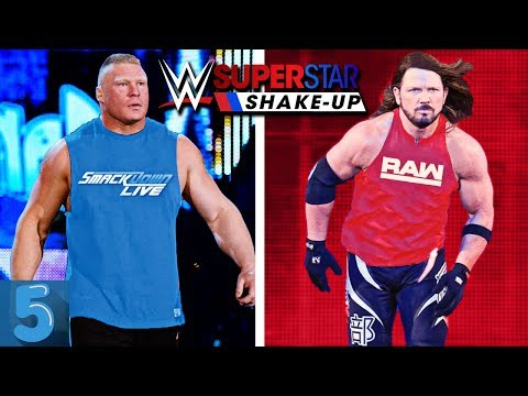 5 WWE Superstars That MIGHT SWITCH Brands (WWE SUPERSTAR SHAKE-UP 2019) thumbnail