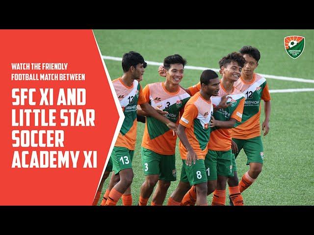 Watch the Friendly Football Match between SFC XI and Little Star Soccer Academy XI