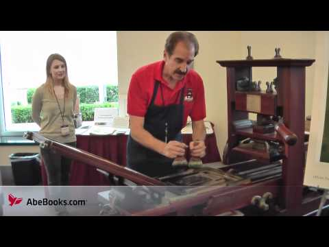 How to Use a Colonial Era Printing Press