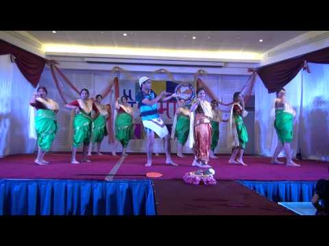 Koli Dance by Mohit and Group at Chaitramas 2014 at Maharashtra Mandal Qatar