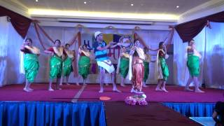 Koli Dance by Mohit and Group at Chaitramas 2014 at Maharashtra Mandal Qatar