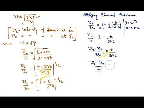 12 Factors affecting velocity of sound  10+1 Physics Waves