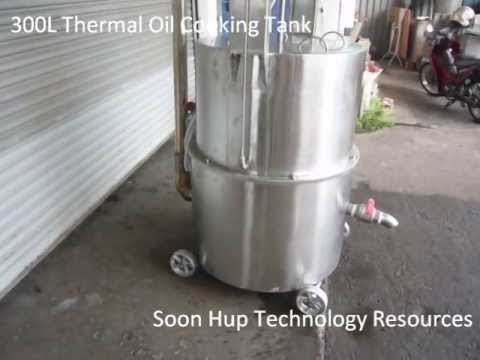 Thermal Oil Cooking Tank