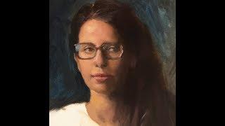 Alla-Prima Portrait Painting Demo | Simple Palette, Color Mixing & Materials
