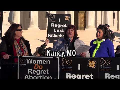 Nancy's 2018 March for Life Testimony