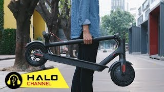 [Haloshop] Xiaomi Smart Scooter - Chiếc xe điện siêu tiện dụng của Xiaomi