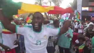 Les moments forts du match Sénégal vs Tunisie à la place de la Nation