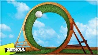 LOOPING MINIGOLF COURSE! (Golf It!)