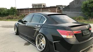 Bagged Accord 8th gen | Honda Accord | VIP Style