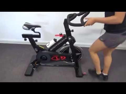 BodyWorx A117 Spin Bike Review & Demo - Australia