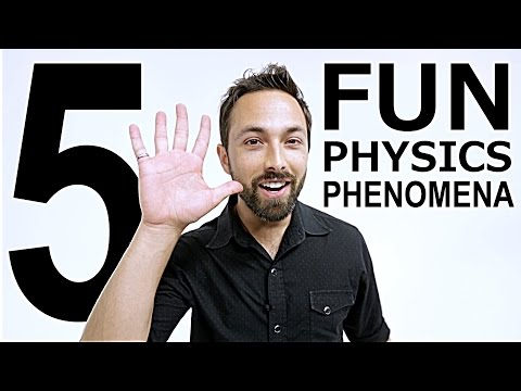 Thumbnail: 5 Fun Physics Phenomena