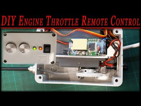 RC tractor remote control [DIY engine throttle remote control] for under $60