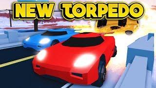 RACING THE NEW TORPEDO! (ROBLOX Jailbreak)